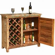 garrard rustic reclaimed wood single door bar cabinet w
