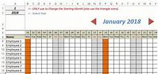 Record Chart 2018 Free Excel Leave Tracker Template Updated For 2019