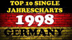 German Black Music Charts Top 10 Single Jahrescharts Deutschland 1998 Year End