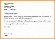 Resignation Email Sample Best Resignation Letter Best Resignation Letter