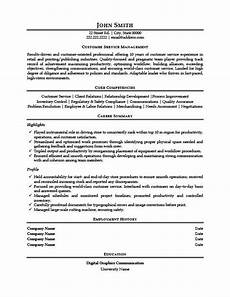 Resume For Customer Service Executive Customer Service Manager Resume Template Premium Resume