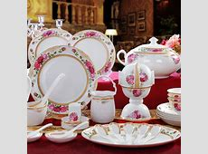 Aliexpress.com : Buy High end Bone china dinnerware set