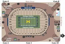 Arbor Stadium Seating Chart Michigan Stadium Seating Chart Rows Mgoblog