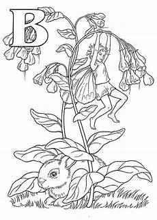 ausmalbild alphabet elfen ausmalbilder1001 de