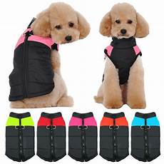 dogs coats for small dogs warm costumes waterproof winter clothes pet coats vest
