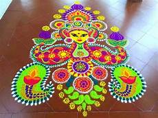 With Designs On Them Latest Creative Rangoli Design Ideas To Try This Festive