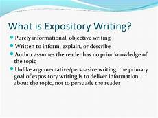 Whats An Expository Essay English 104 Expository Writing