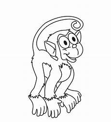 Mono Para Colorear Dibujos Para Colorear Dibujos De Monos