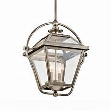Pewter Pendant Light Fitting Kichler Ryegate Two Light Pendant In Antique Pewter