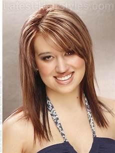 frisuren rundes gesicht mittellang flattering medium length hairstyles for faces