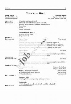 A Sample Of A Good Resume Sample Resume Template Free Resume Examples With Resume