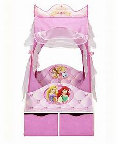 princess carriage toddler bed mattress and storage