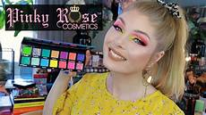Rose Bright Lights Palette Review Rose Bright Lights Palette Review Amp Swatches Youtube