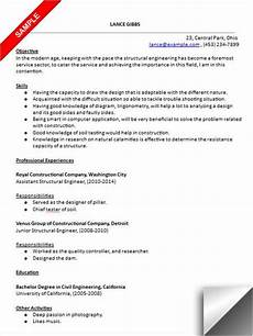structural engineer resume sample structural engineer resume sample resume examples