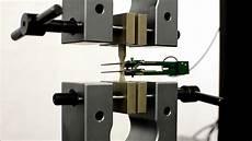 Tensile Test Micro Tensile Strength Test Of Plastic Per Astm D638 Youtube
