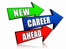 Need A New Career New Career Ahead In Arrows Stock Photo Image Of Knowledge