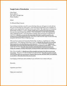 Introduction Letters For Jobs 5 Sample Introduction Letters Introduction Letter