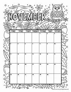 November 2020 Calendar For Kids Printable