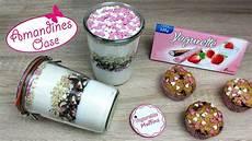 yogurette muffins backmischung im glas mit etikett