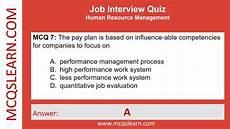 Job Interview Quiz Job Interview Quiz Mcqslearn Free Videos Youtube