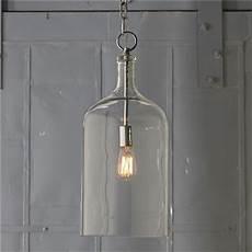 Contemporary Lantern Lighting Glass Jug Lantern Contemporary Pendant Lighting By