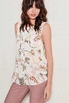 sleeveless ruffle blouse next sleeveless ruffle hem blouse shop ezibuy