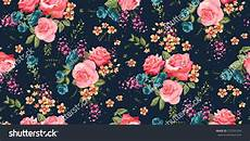 Flower Wallpaper Pattern by Classic Wallpaper Seamless Vintage Flower Pattern Stock