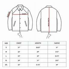 Coach Jacket Size Chart Custom Made High Quality Coaches Jackets Fashionwear Made