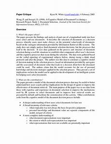 Academic Research Paper Examples Example Of Research Study Paper How To Write A Research