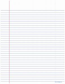 College Rule Notebook Paper College Ruled Notebook Paper Templates At