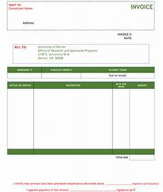 Invoice Format For Consultancy 3 Consulting Invoice Templates To Make Quick Invoices