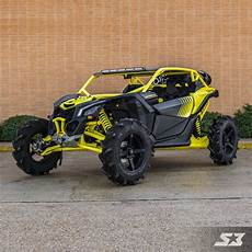X3 Racing Lights 2018 Can Am Maverick X3 X Mr Sunburst Yellow Black S3