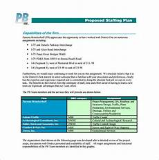 Staffing Chart Template 9 Staffing Plan Templates Pdf Doc Xlsx Free