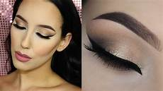 makeup light neutral cat eye tarte cosmetics light of the