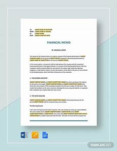 Memo Finance 11 Financial Memo Examples In Pdf Ms Word Pages