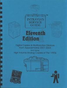 Intravia S 11th 2001 2003 Copier Service Guide