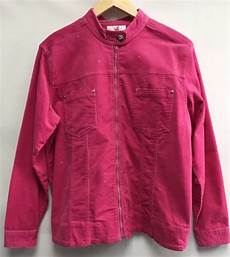 Sparkle In Pink Women S Size Chart Quacker Factory Womens Size Medium Jacket Pink Sparkle