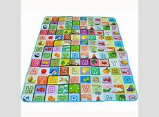 0.5cm thick Baby Crawling Puzzle Play Mat, Educational Letters Children's Developing Playmat Gym