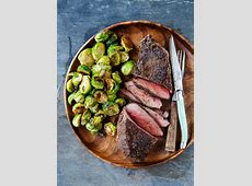 Cowboy Steak Recipe and Brussels Sprouts   Romantic Dinner