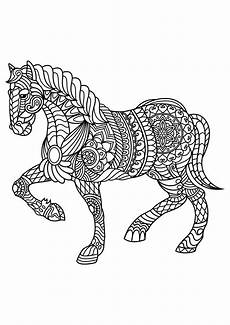 free book horses coloring pages
