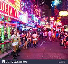 Thailand Red Light District Soi Cowboy Red Light District In Bangkok Thailand Stock