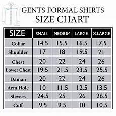 Shirt Conversion Chart Mens Shirt Size Guide