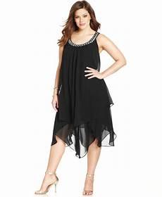 Sl Fashions Dress Size Chart Sl Fashions Plus Size Tiered Shift Dress Vestidos