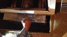 How To Light A Old Furnace How To Light And Turn Off An Old Floor Heater 1of3 Youtube