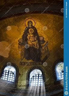 hagia interiors and child jesus