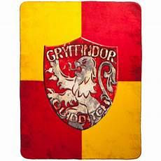 harry potter memorabilia gryffindor crest fleece throw