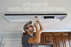 How To Install Ceiling Light In Old House How To Replace Fluorescent Lighting With A Pendant Fixture