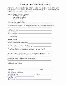 Donation Form Template 43 Free Donation Request Letters Amp Forms ᐅ Templatelab