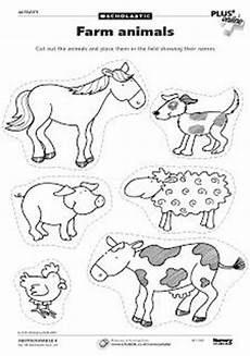 farm cut out activity blue truck farm animal