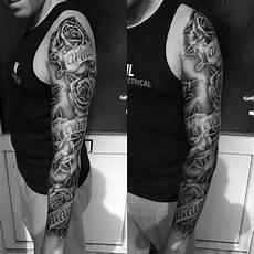 Designs For Men Arms Name 60 Name Tattoos For Men Lettering Design Ideas